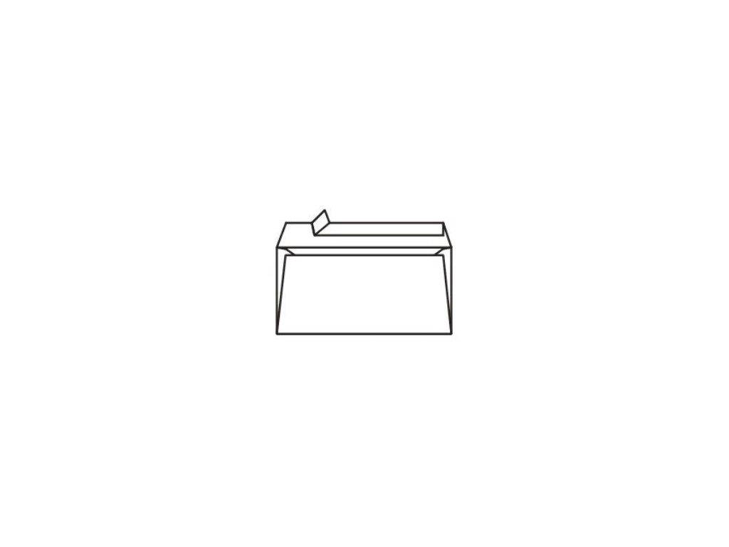 Obálky DL samolepící bílé s krycí páskou 50ks
