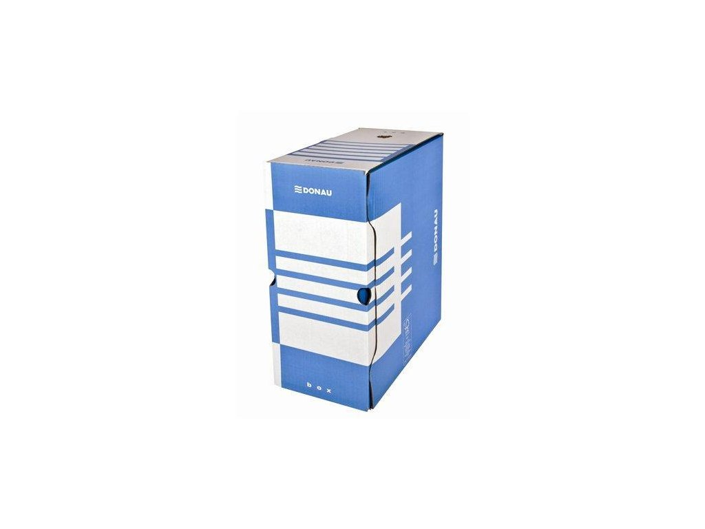 Donau archivační krabice modrá 15,5 cm