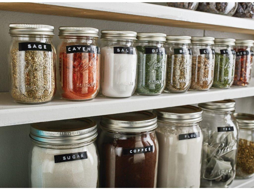 Dymo páska 3D, 9mm x 3m, černá, bílý tisk 1ks