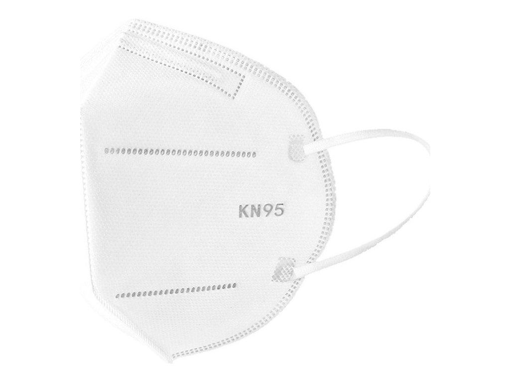 Respirátor označení FFP2 KN95, bez ventilku