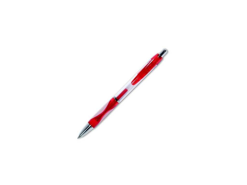 Gelové pero Fortuna - červená