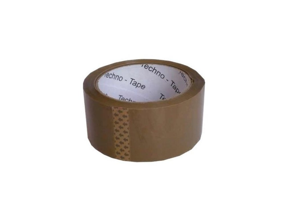 Lepící páska 75mm x 66m Havana - hnědá