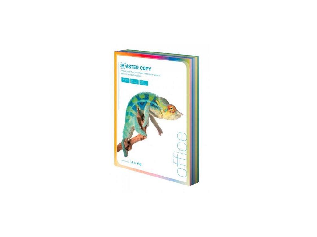 Barevný papír A4 80g 10 x 10l pastel. odstíny