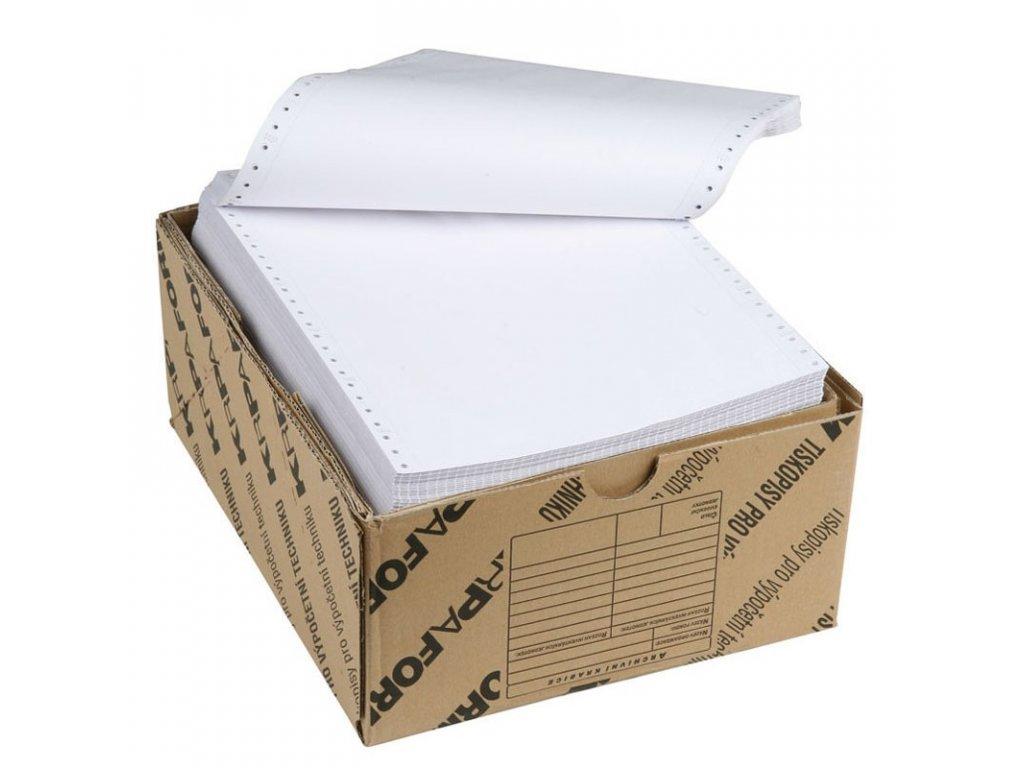 Tabelační papír 24x12/6 1+ 0 BP (2000 listů)