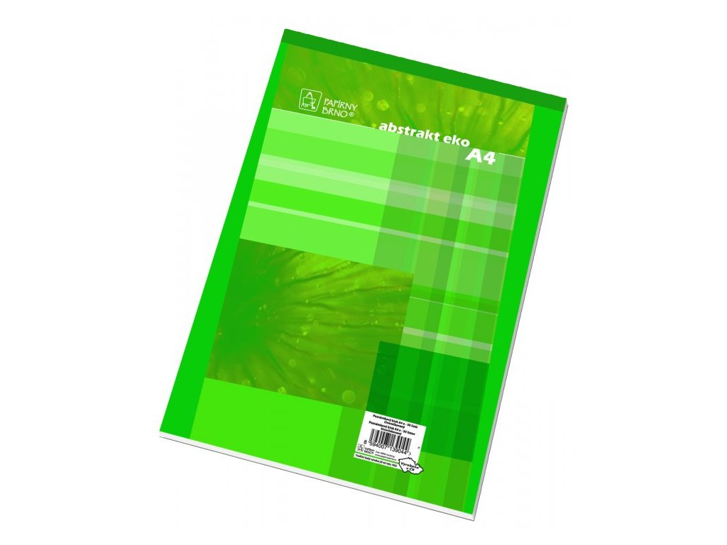 Blok šitý A4 čtvereček 14055 50 listů