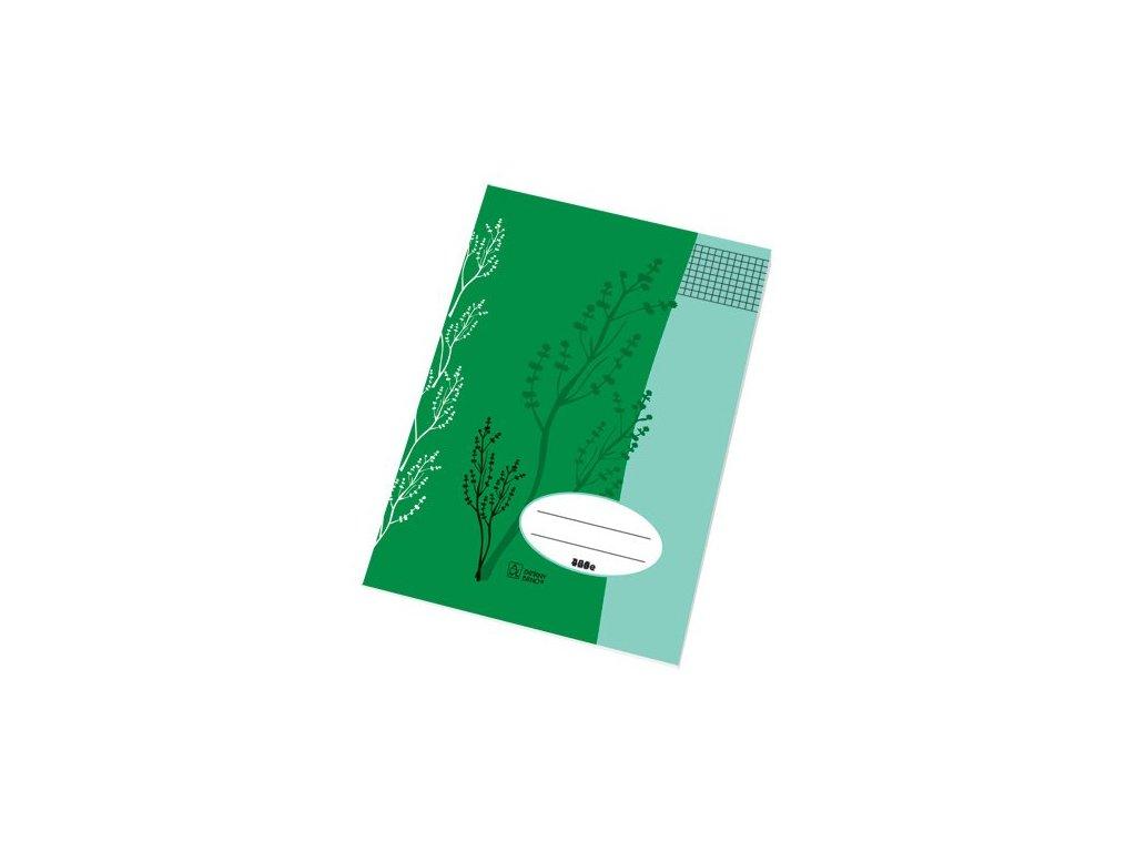 Školní sešit A4 445 čtvereček 40 listů