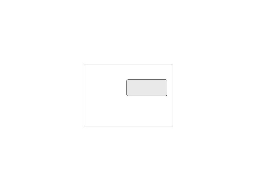 Obálky C5 s okénkem v pravo 50ks