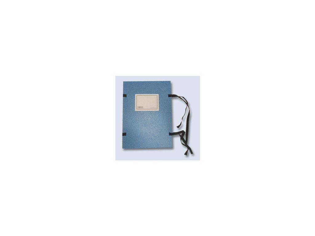 Desky s tkanicí A4 se štítkem modré