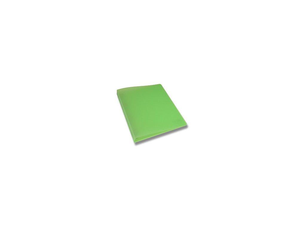 Pořadač 2 kroužkový Opaline 2cm zelený