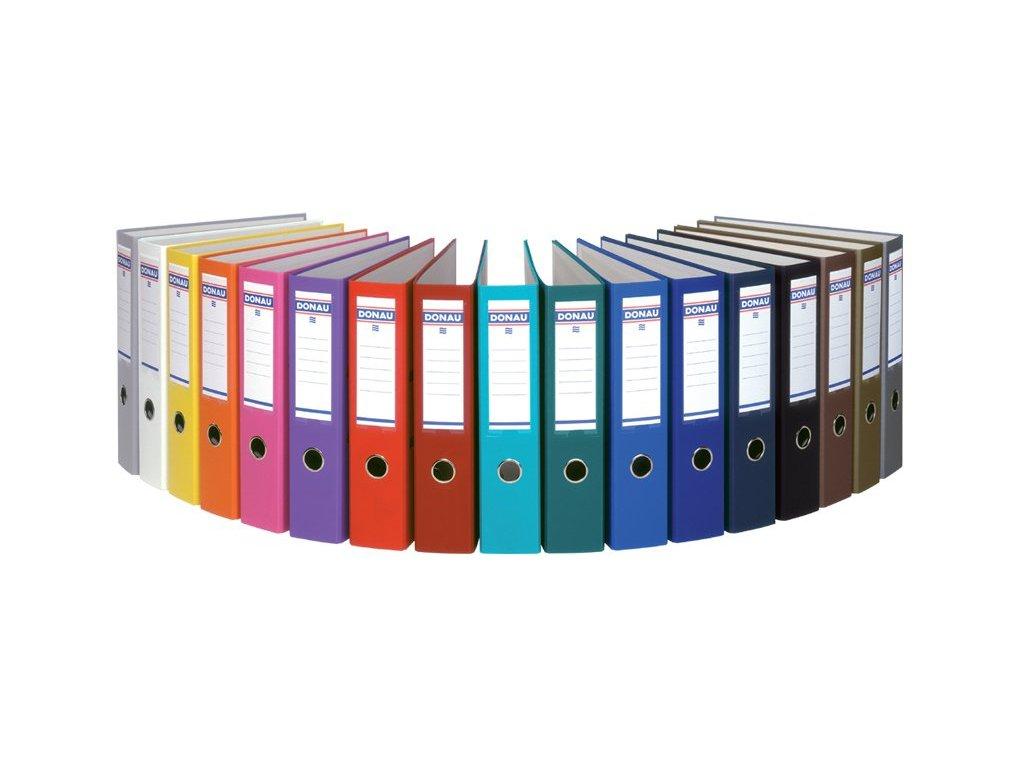 Pořadač pákový Donau Rainbow A4 5cm