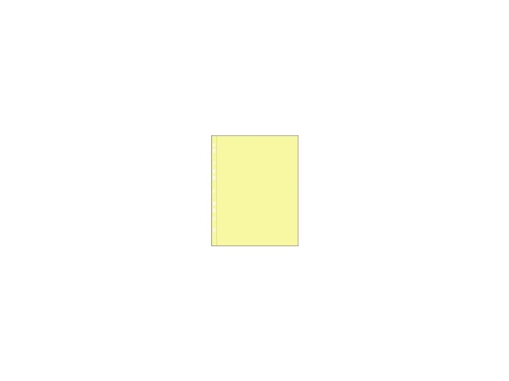Prospektový obal A4 U PH 101 žlutý - 100ks