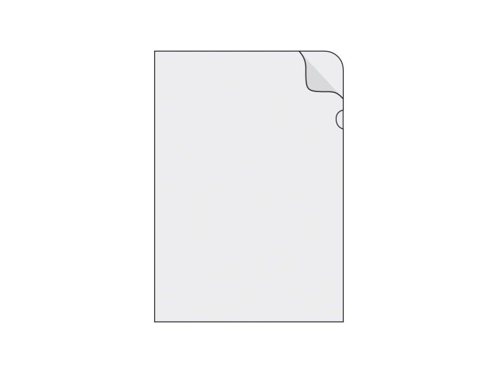 Obal A5 L PVC  150mic. Čiré