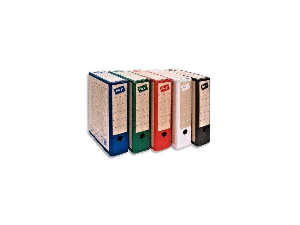 Archivační krabice HIT BOARD COLOUR 7,5 cm - modrá