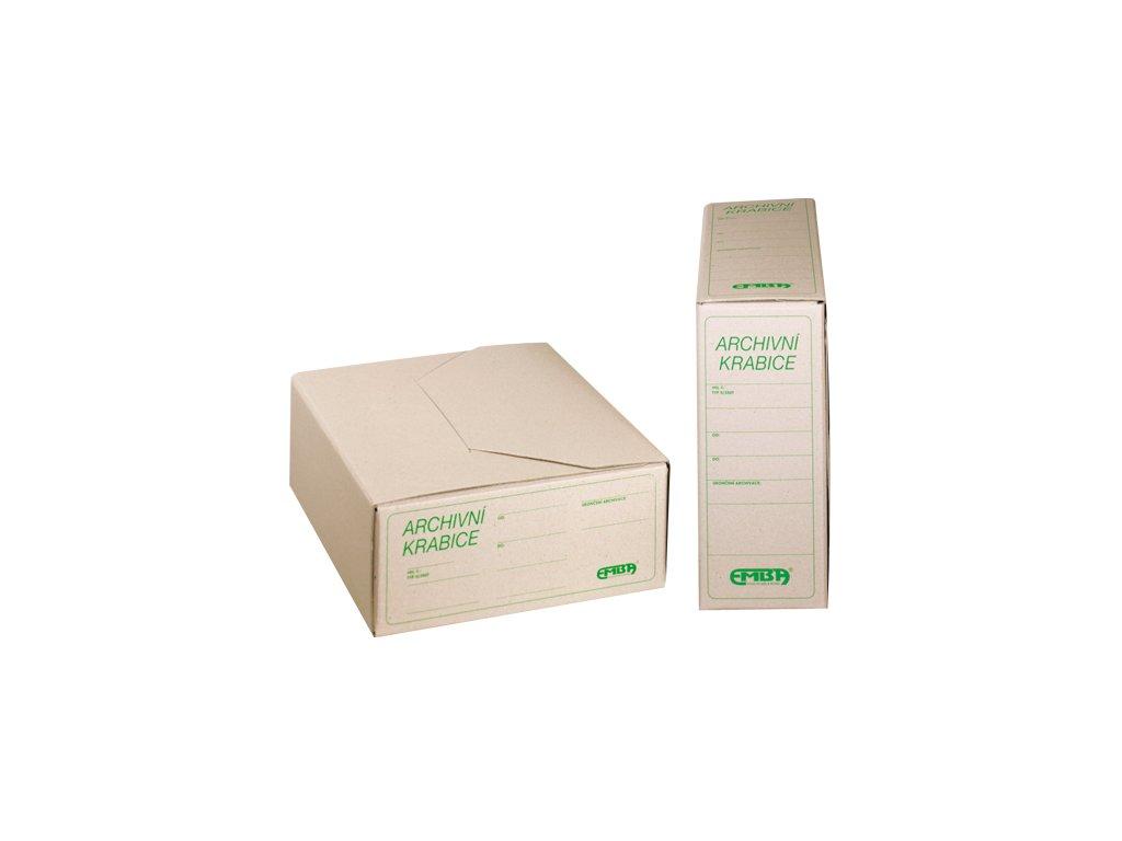 Archivační krabice EMBA 410x260x110 mm