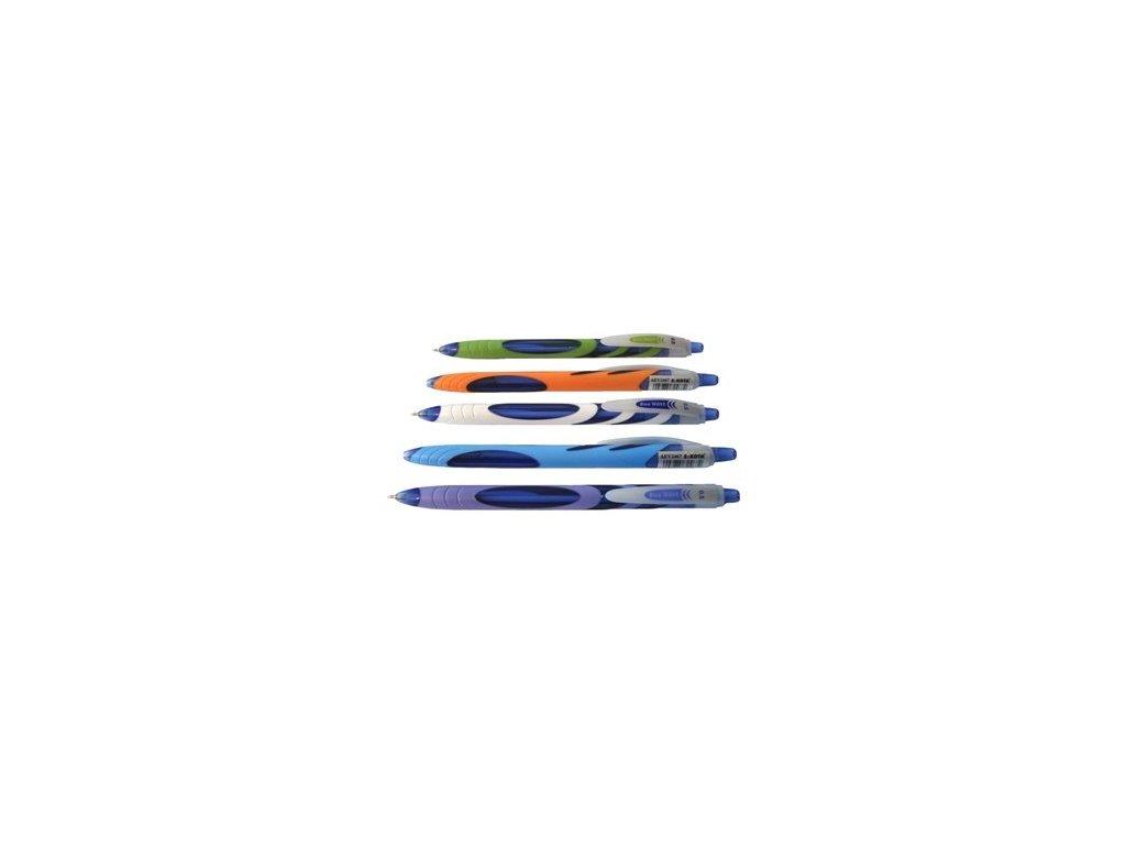 Pero kuličkové Sakota Blue Wave 0,5mm - modrá náplň