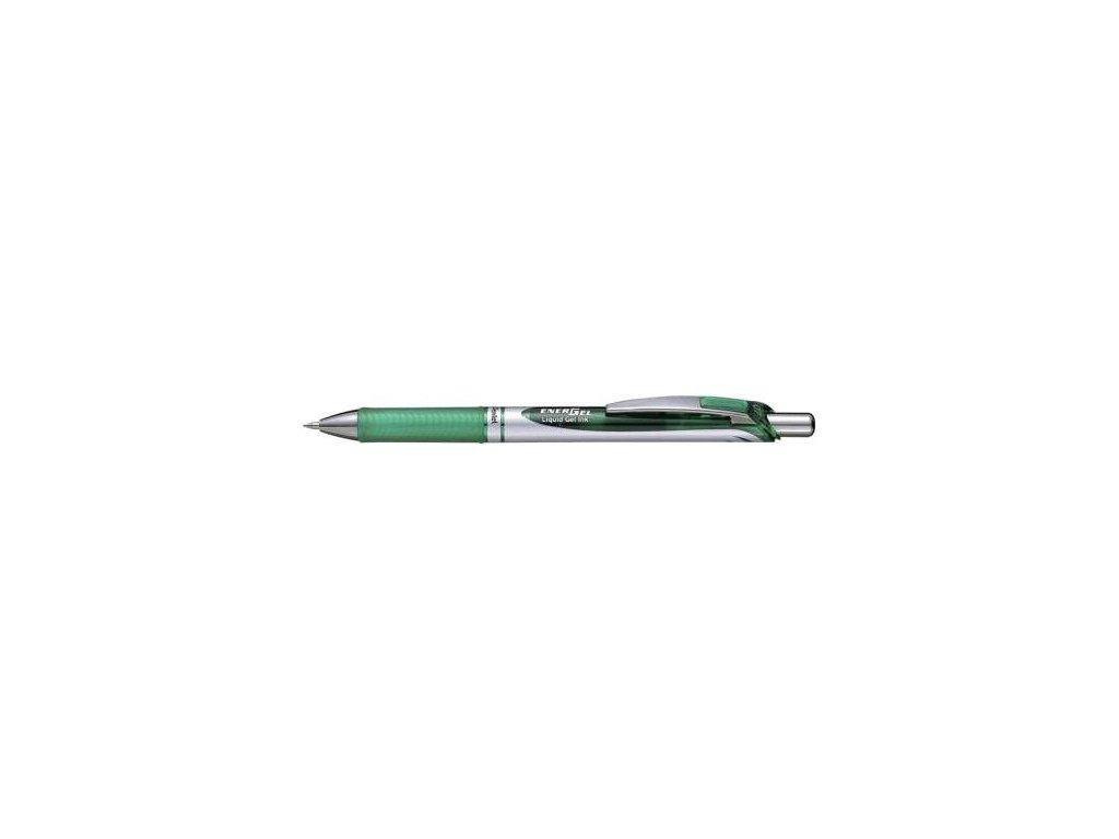 Pero kuličkové Pentel BL77-D 0,7mm zelená