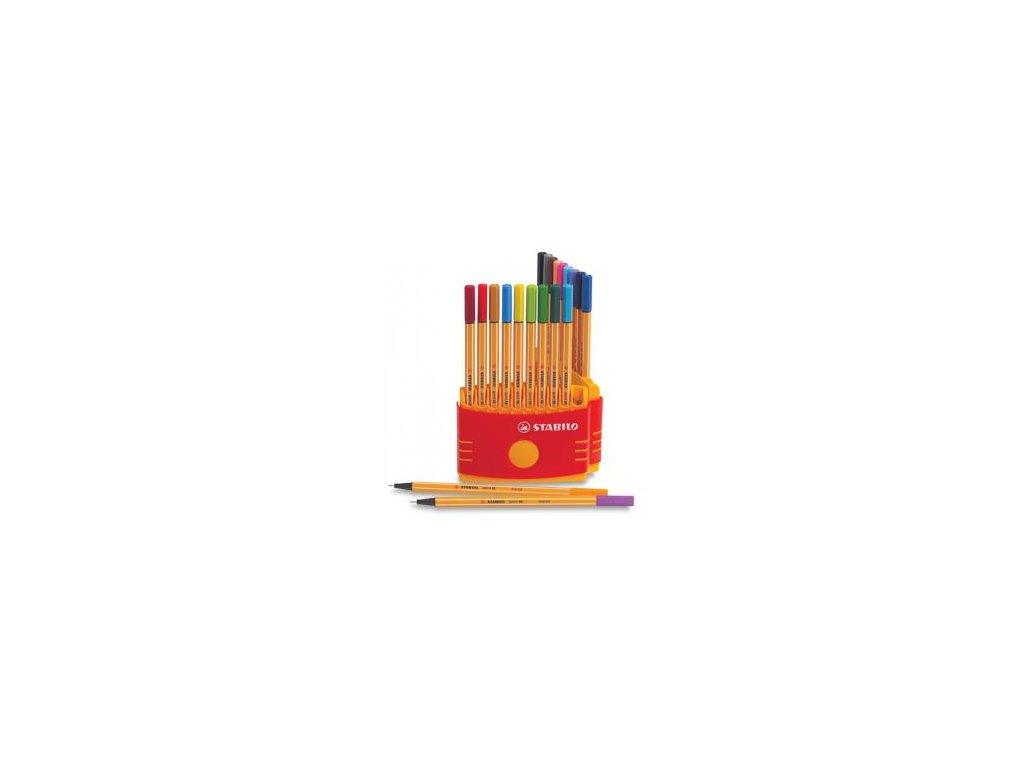Liner Stabilo point 88 sada 20 barev 0,4 mm