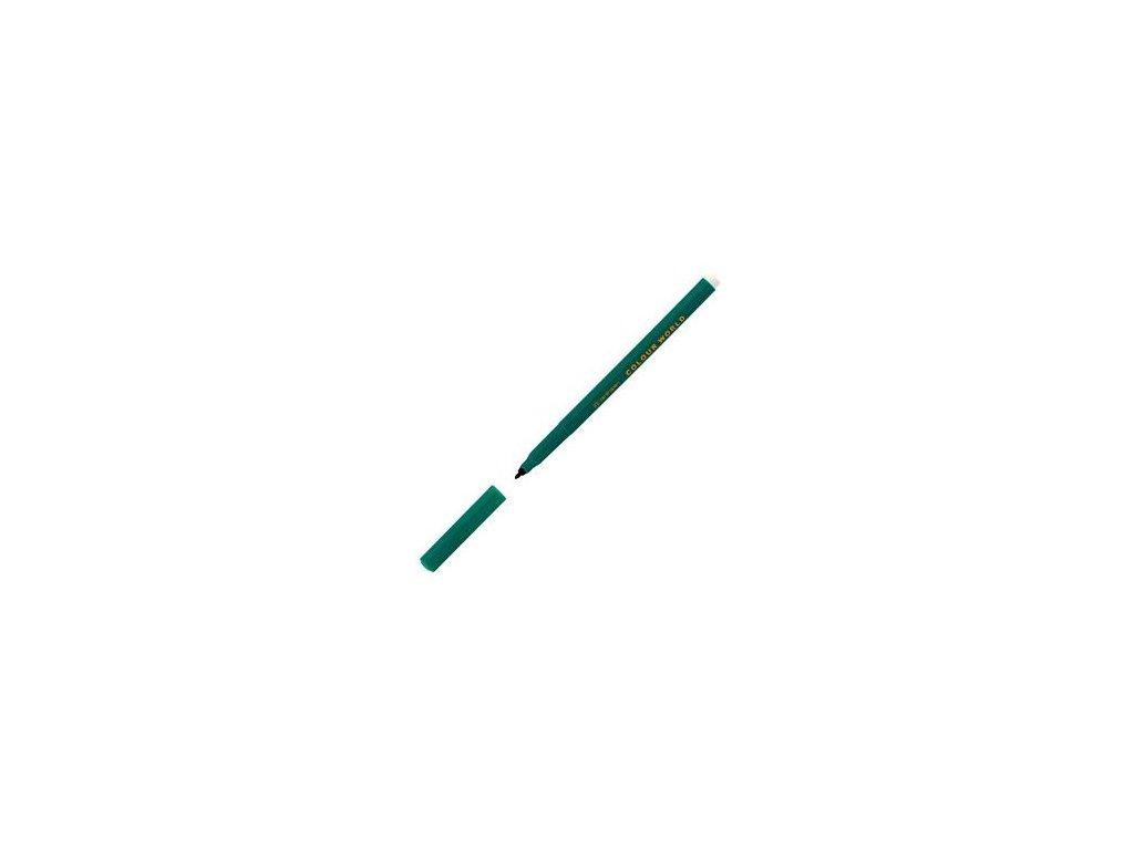 Popisovač Centropen 7550 zelený 1 mm