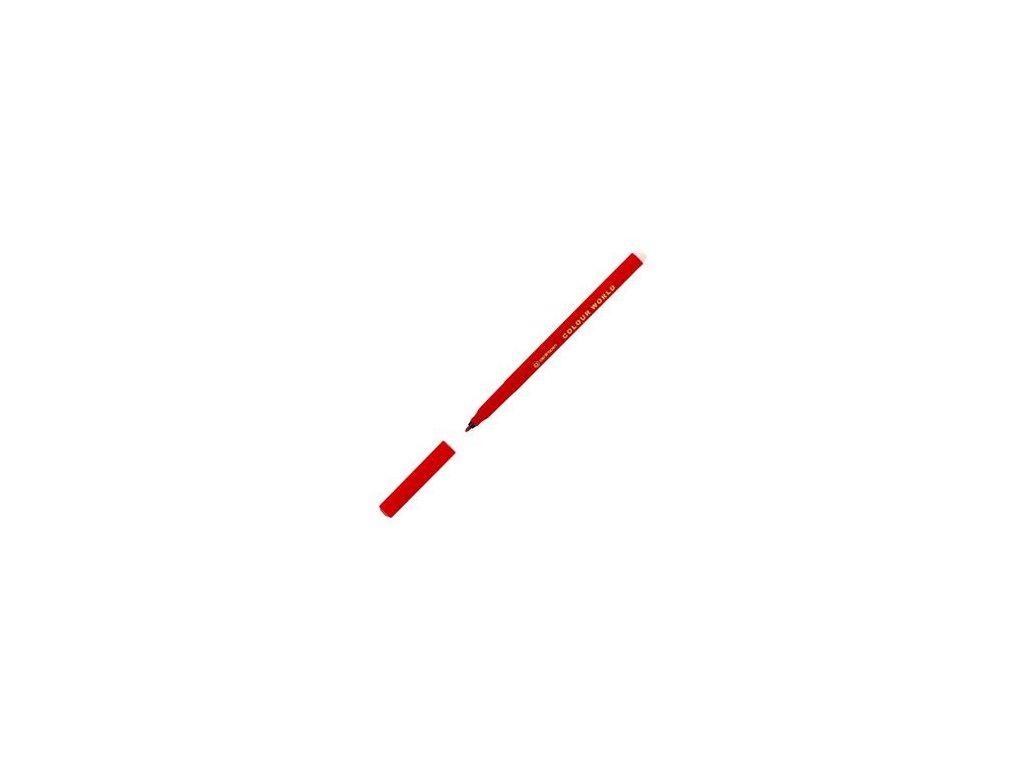 Popisovač Centropen 7550 červený 1 mm