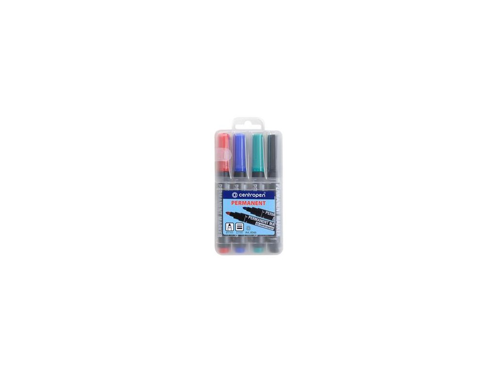 Popisovač Centropen 8566/4 sada 4 barvy 2,5 mm