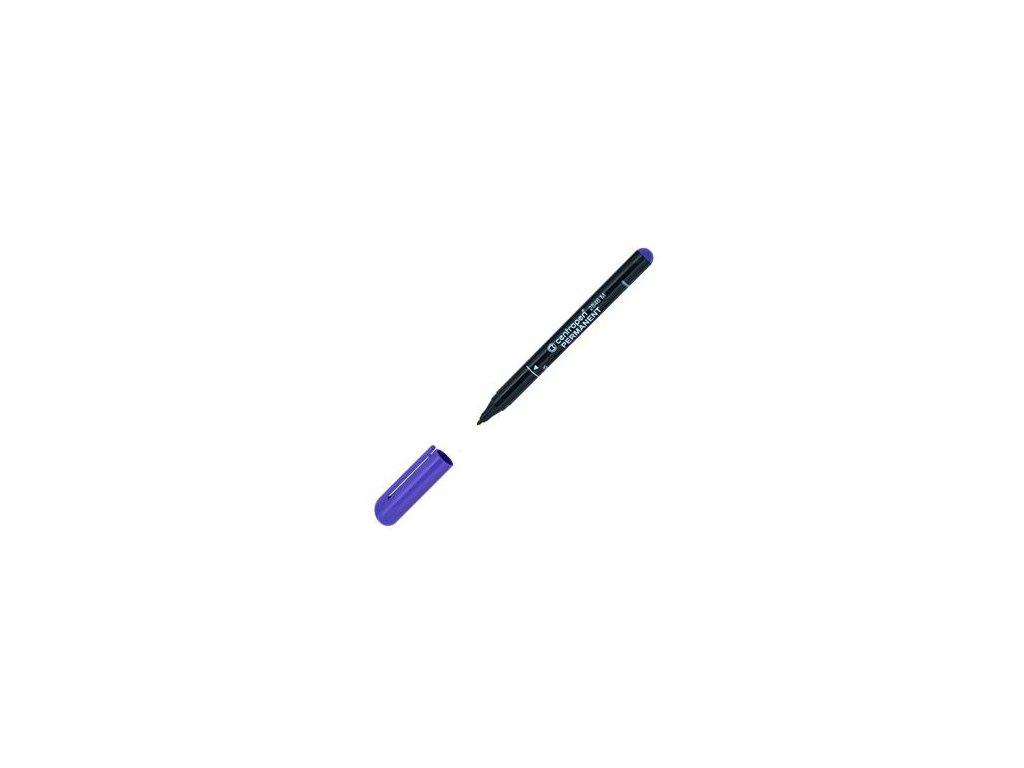 Popisovač Centropen 2846 permanent 1mm fialový