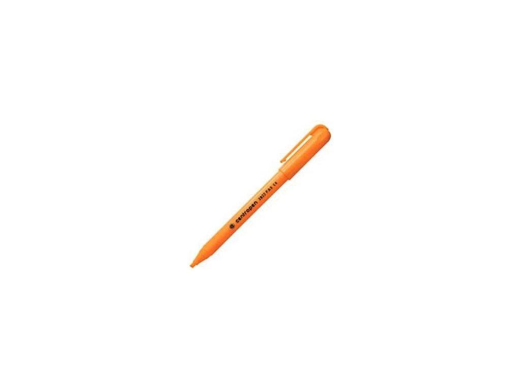 Zvýrazňovač Centropen 2822 oranžový