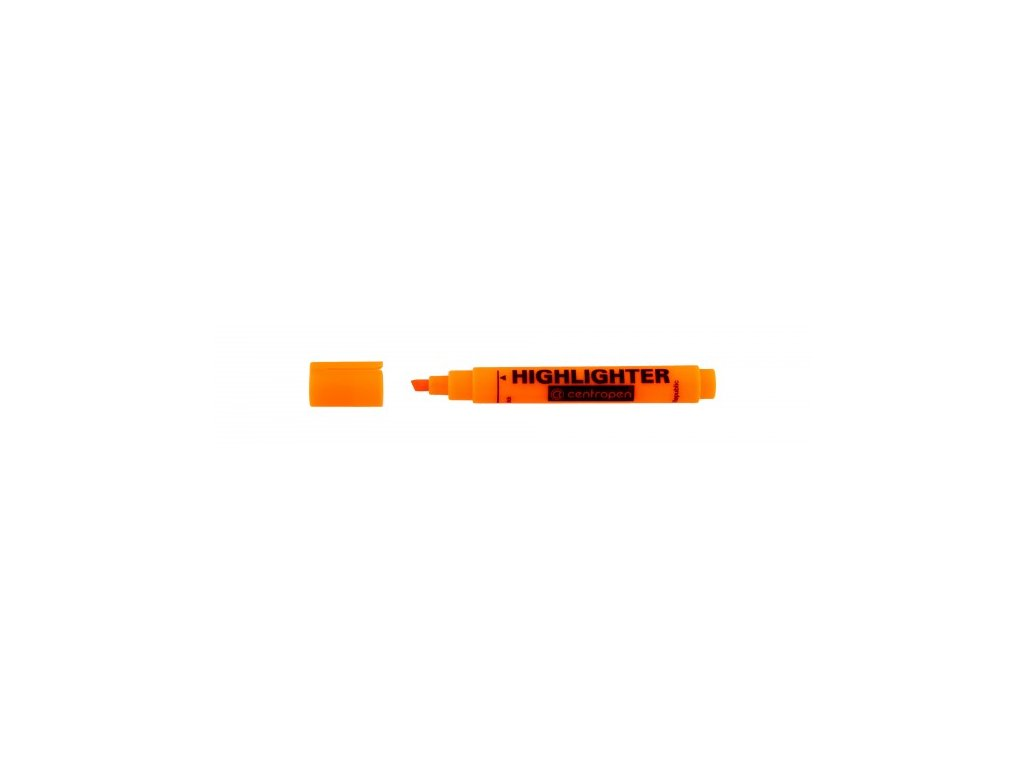 Zvýrazňovač Centropen HIGHLIGHTER 8552 1-4,6 mm oranžový