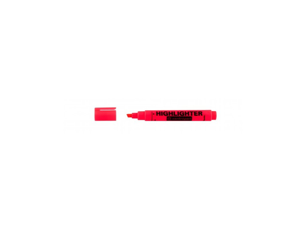 Zvýrazňovač Centropen HIGHLIGHTER 8552 1-4,6 mm červený