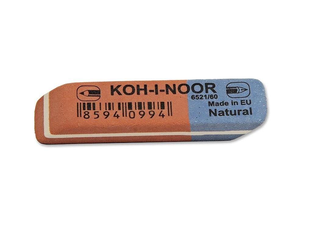 Pryž 6521/60 KOH-I-NOOR kombinovaná