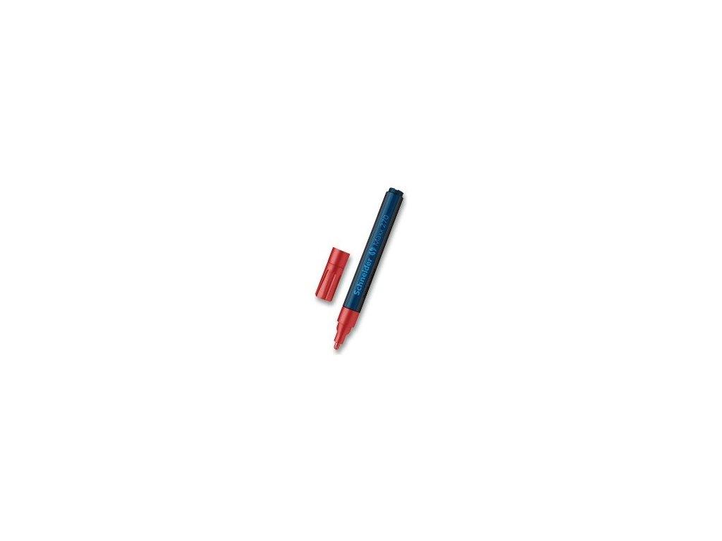 Popisovač Schneider Maxx 270 lakový, 1-3 mm - červený