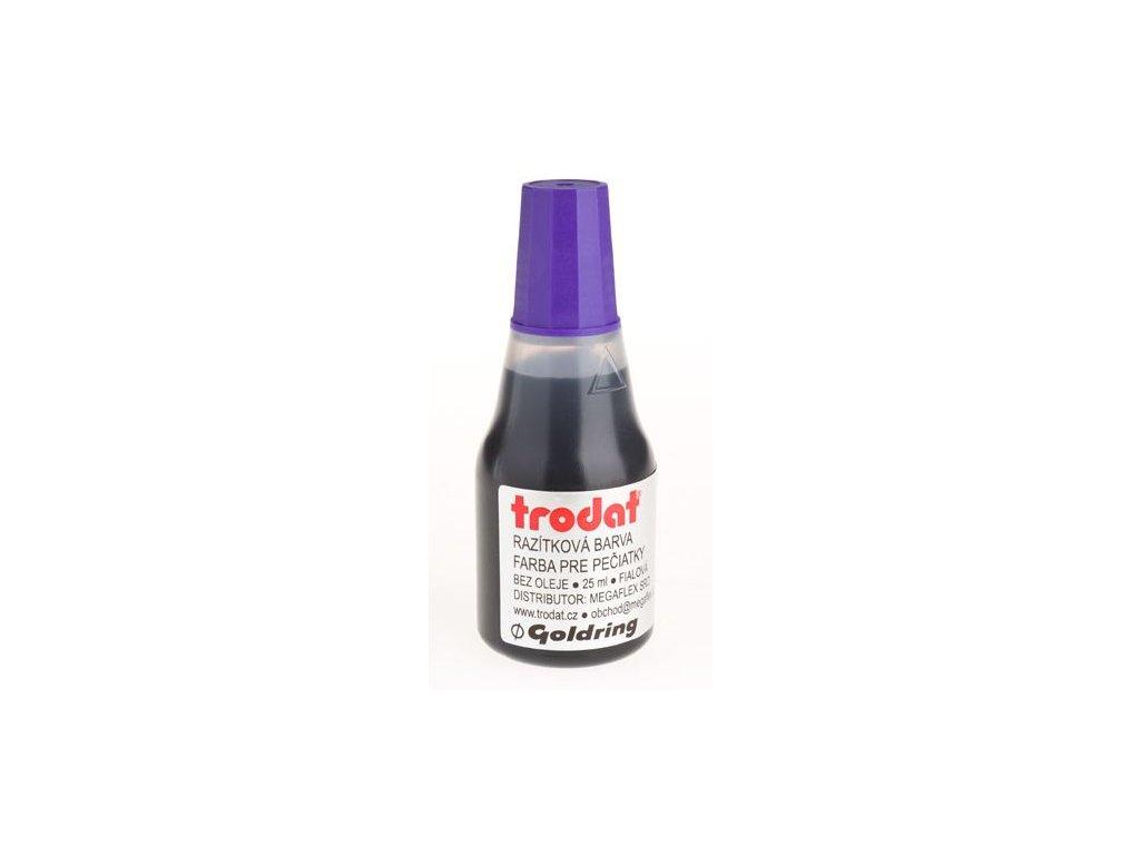 Razítková barva Trodat 7010, 25ml, fialová