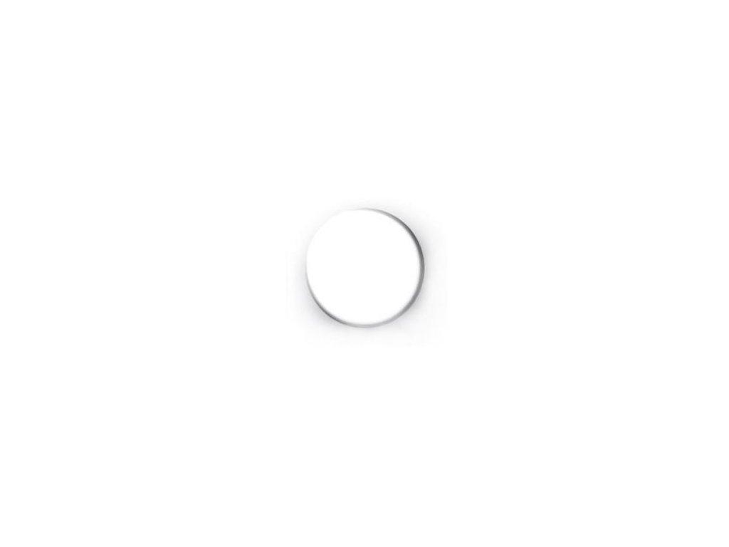 Magnet kulatý průměr 20 mm, bílý