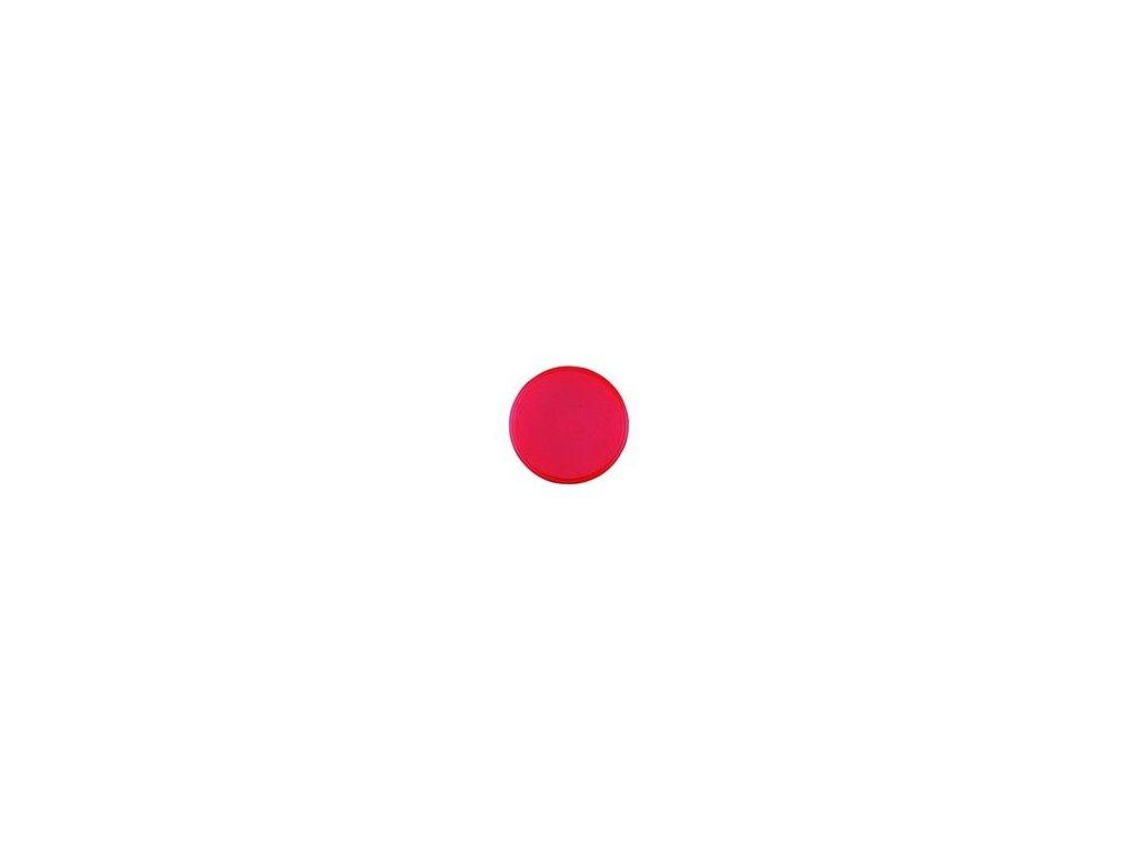Magnet kulatý průměr 20 mm, červený