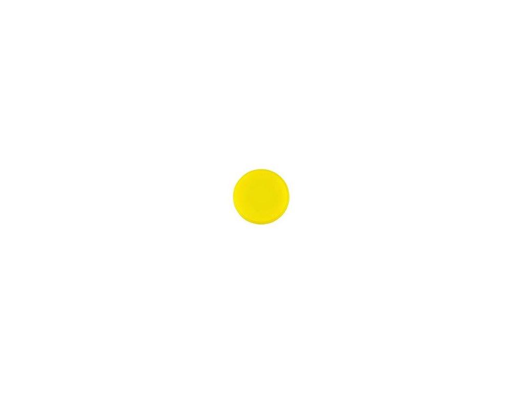 Magnet kulatý průměr 20 mm, žlutý