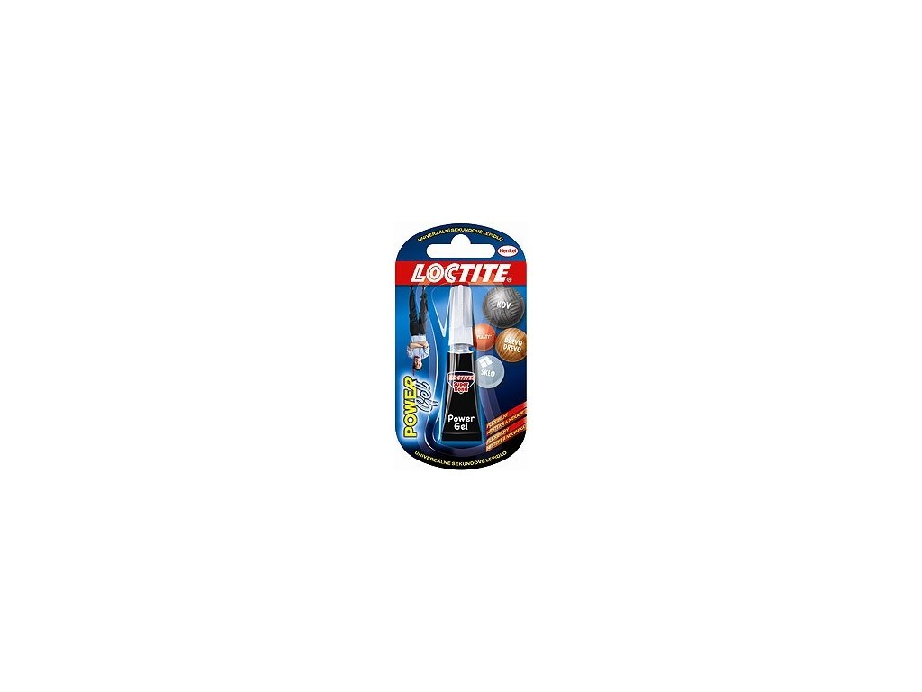 Lepidlo vteřinové Loctite Super Bond Power gel 2g