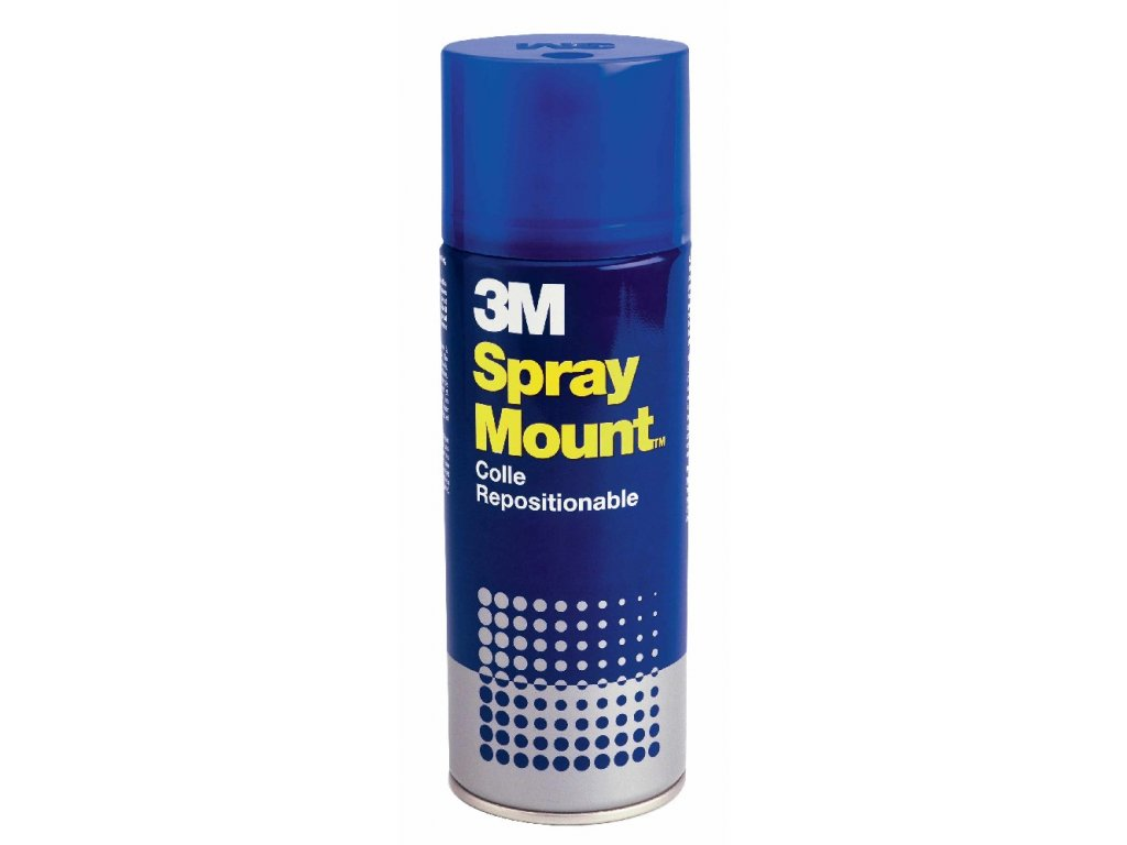 Lepidlo ve spreji 3M Spray Mount 400 ml