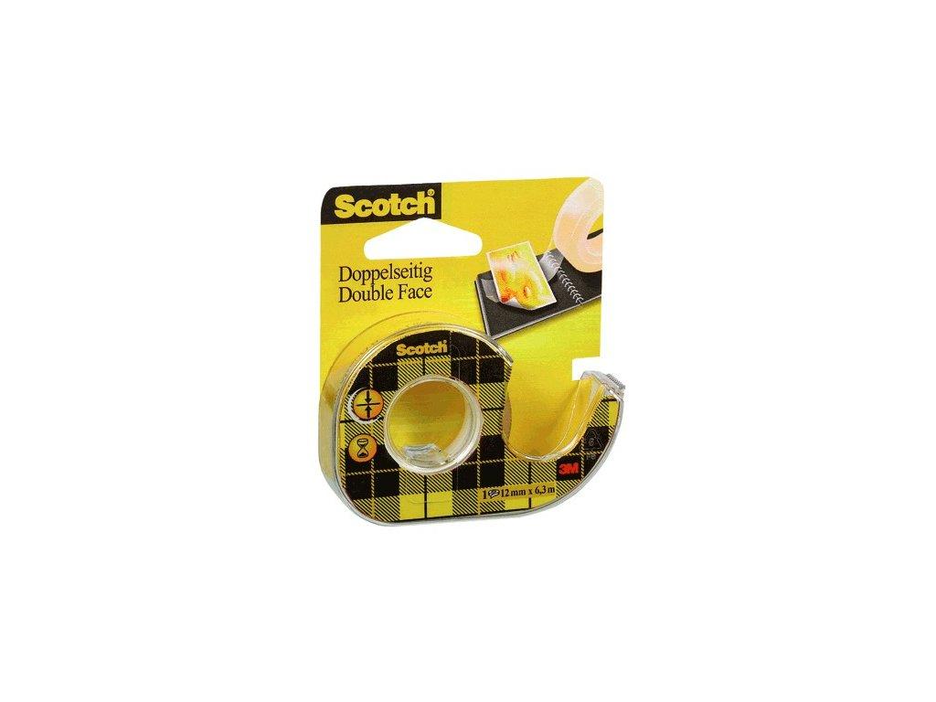 Lepící páska Scotch oboustranná 12 mm x 1,9m