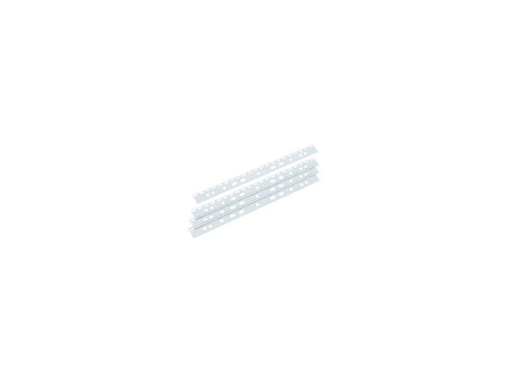 Závěsná lišta do pořadače A4 pro plast. hřbety - 10ks