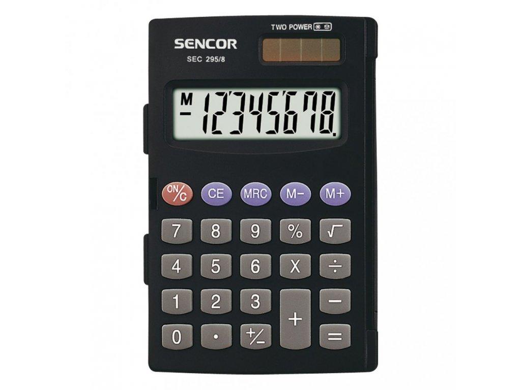 Kalkulačka Sencor SEC 295 8 103x68 mm