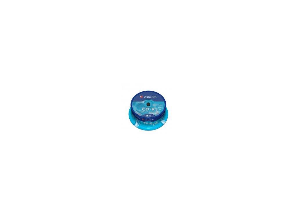 Verbatim CD-R 700MB 52x, spindle - 25ks