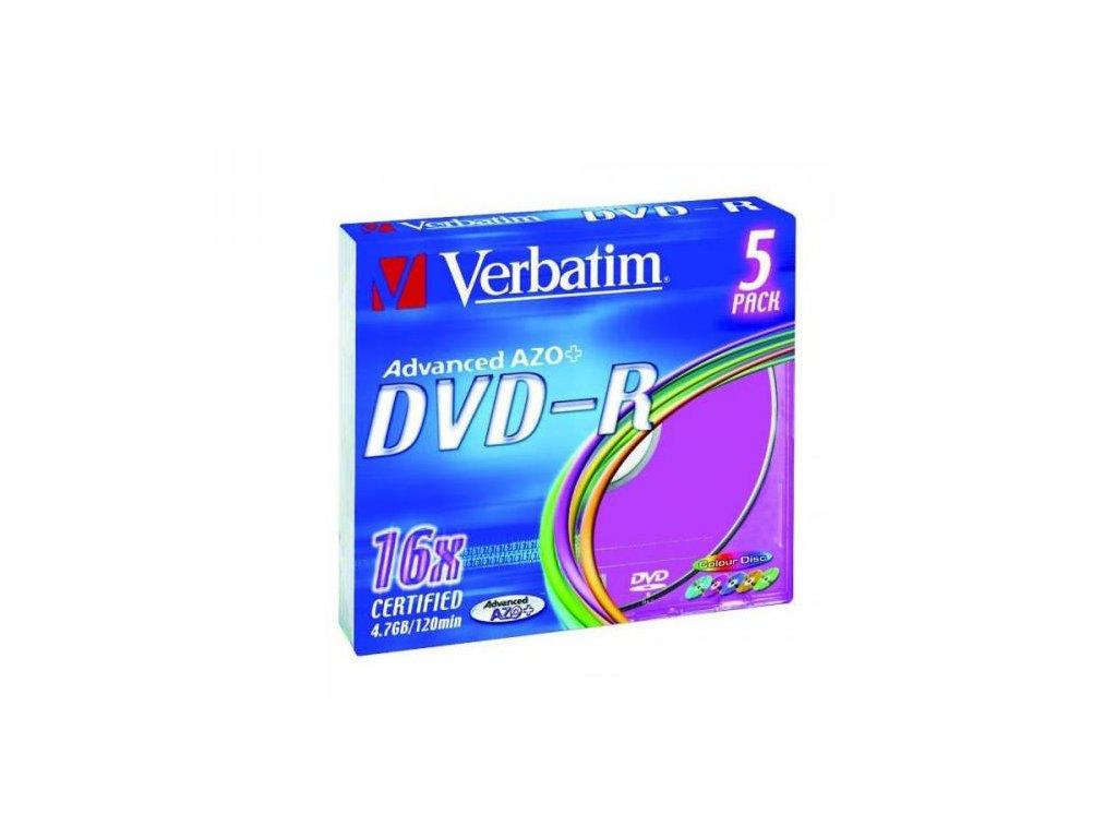 dvd r verbatim 4 7gb 16x slimbox default