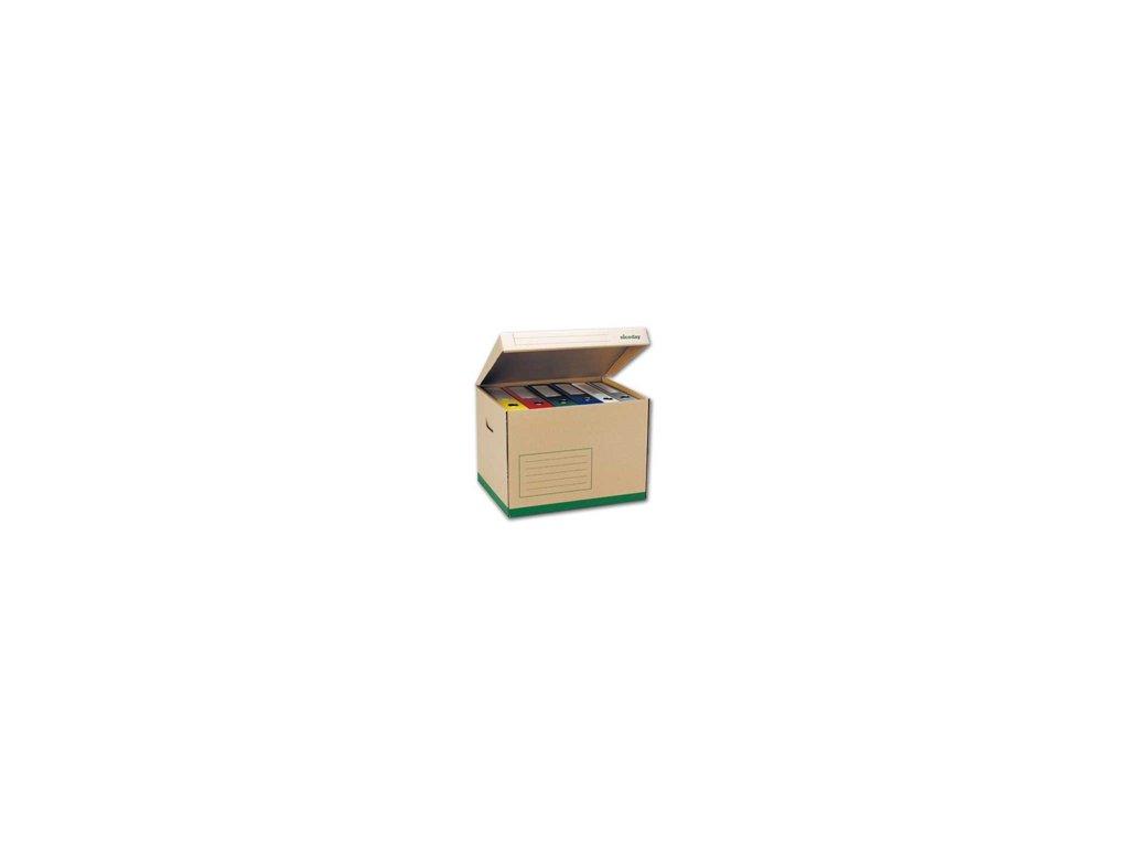 Archivační krabice s víkem na 5ks pořadačů