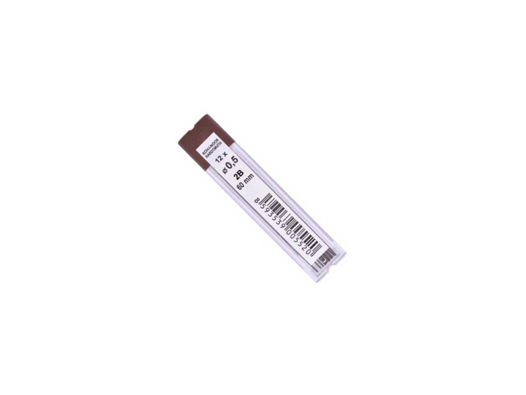 Tuhy do mikrotužky 0,5 2B 12ks