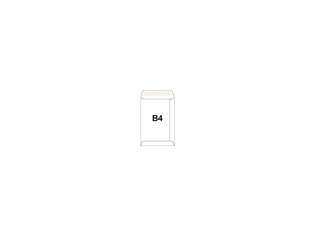 Obálky B4 taška - samolepící recykl. 50ks
