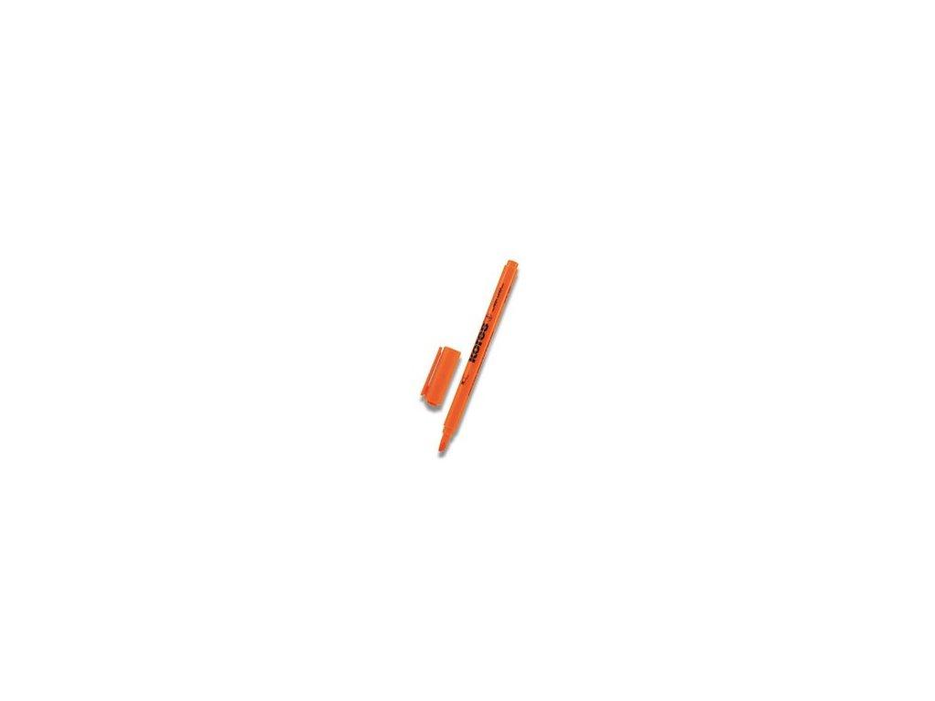 Zvýrazňovač Kores HighLiner oranžový