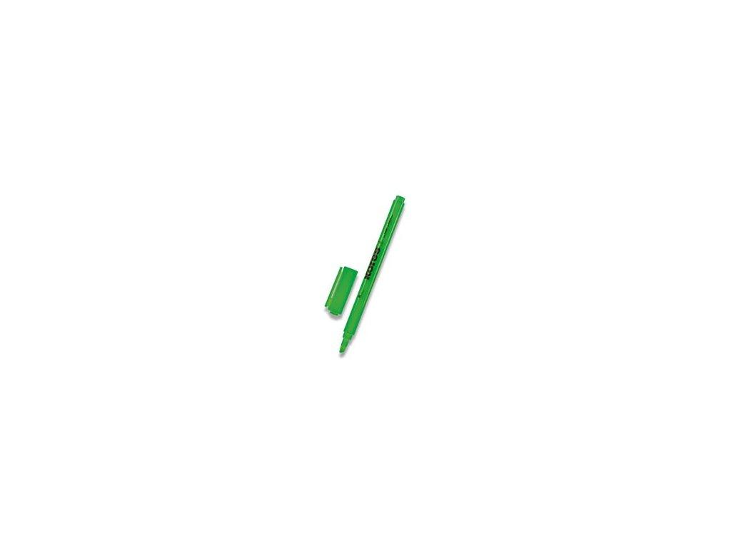 Zvýrazňovač Kores HighLiner zelený
