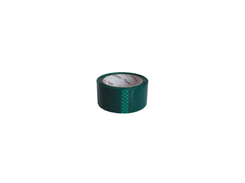 Lepící páska 48mm x 66m - zelená