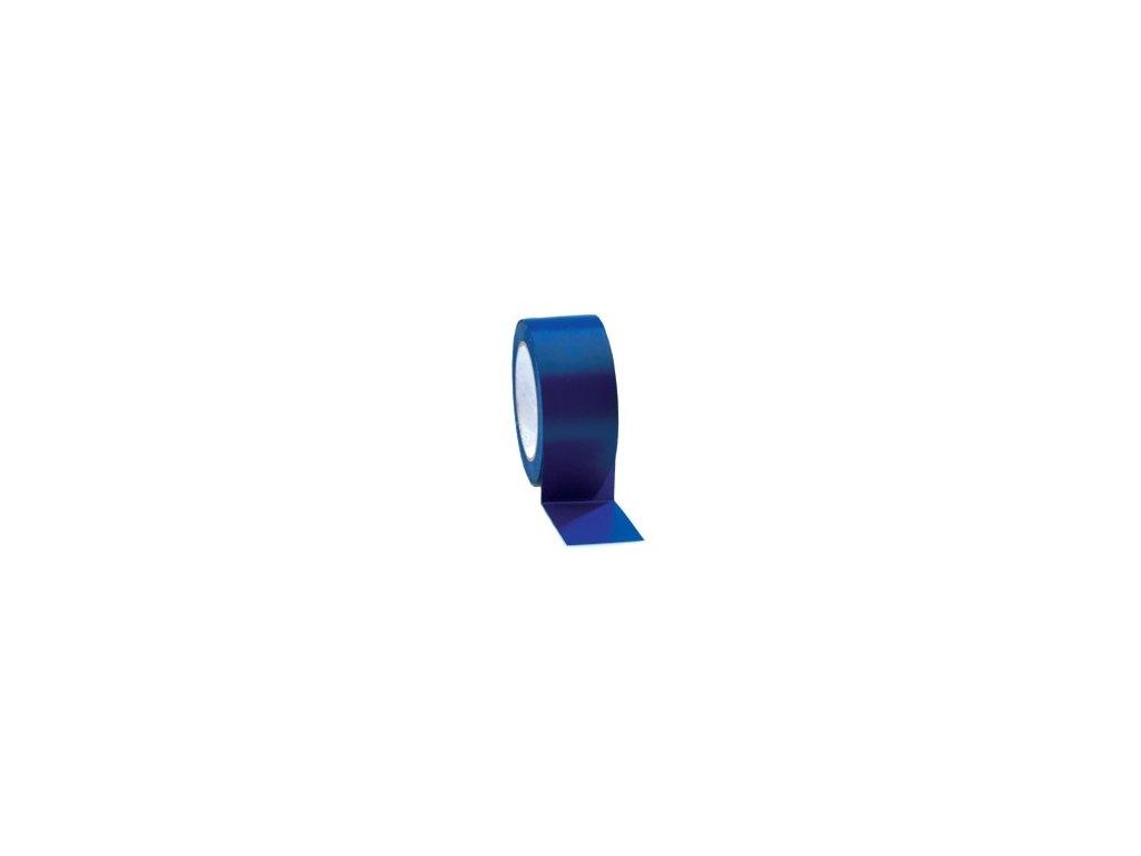 Lepící páska podlahová 50mm x 33m PVC modrá