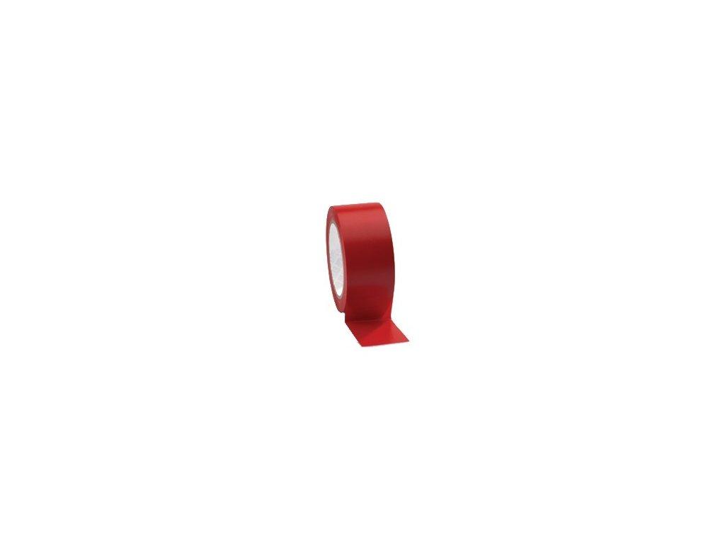 Lepící páska podlahová 50mm x 33m PVC červená