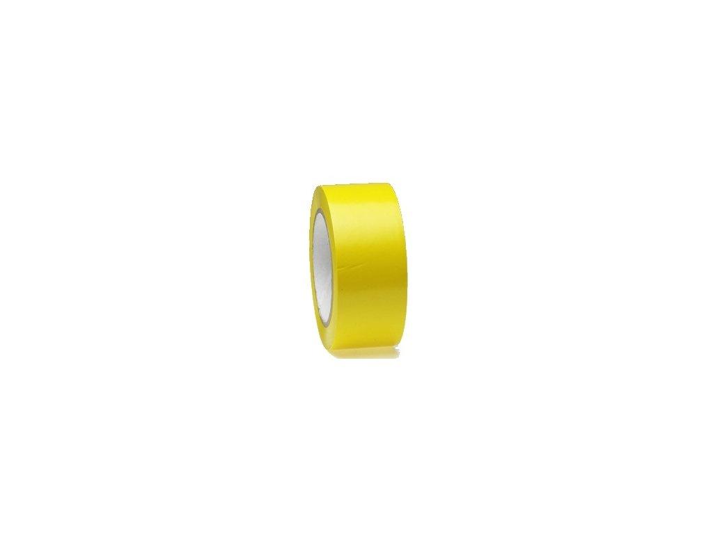 Lepící páska podlahová 50mm x 33m PVC žlutá